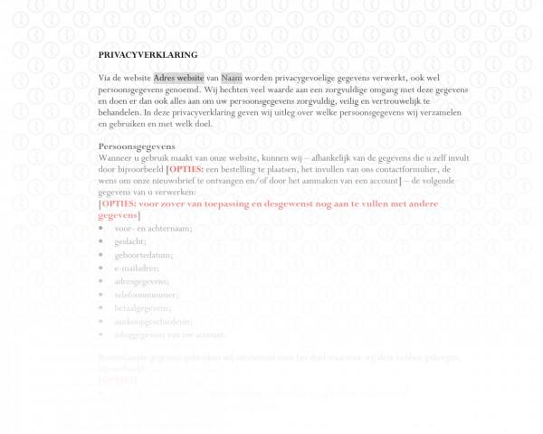Privacyverklaring werknemers RB500b